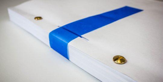Façonnage - Reliure notariale
